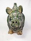 China Antique  Tang (maybe) Ceramic  Year of pig  Boar