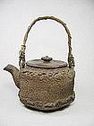Japan Tetsubin-style Ceramic Teapot 19th Century