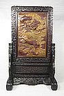 China Antique Zitan Table Screen