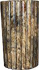 China Antique Brushpot Soapstone Scholar Art 19th C