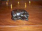 China Antique Year of the Ox Decorative Object  19th C