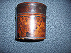 China Antique Boxwood Incense Box/Cricket Case