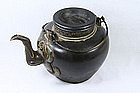 Yixing Teapot Cup of Light Frog early 20th C.