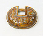 China Antique Toggle Lock Place name