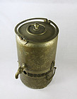 China Antique Russian Samovar with Chinese Characters