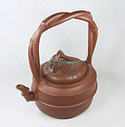 china Yixing tiliang Teapot  OUTSTANDING 1940