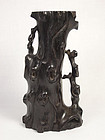 China Antique Zitan Middle Qing Flower Holder