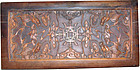China Scholar Boxwood Carving Box late Qing