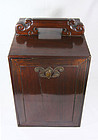 China Antique Seal Chest  lacquer Scholar