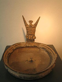 Daunian flat bowl,south italy ,350bc