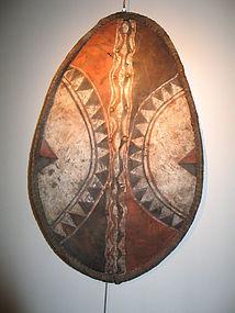 a masai shield