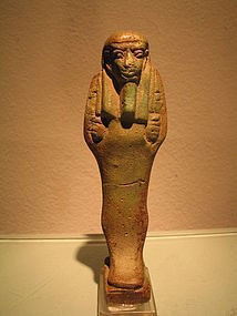 an egyptian ushabti
