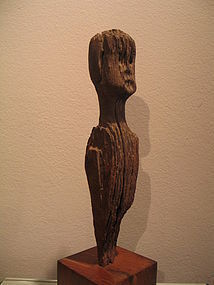 an iban dayak  hampatong figure