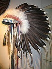 an indianist sioux headdress