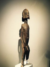 dogon figure ,pierre vérité ,with certificate