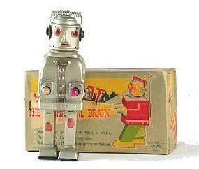 Alps ,mr robot mechanical brain,circa 1954