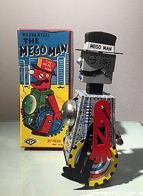 megoman  by mego,1950's