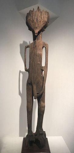 sakalava figure with mohara ody on his back