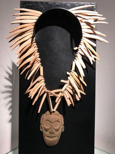 a taino necklace ,santo domingo 15th century