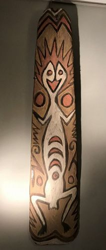 An April River spirit board, Upper Sepik; Papua New guinea