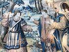 "audenaerde tapestry,tapisserie d Audenaerde  17th ""Tobie"""