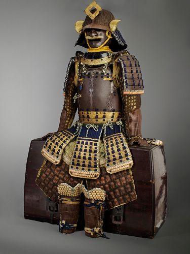 superb Edo armour with saotome helmet ,published