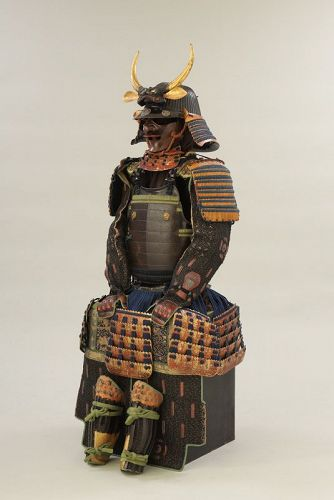 gusoku ,samourai armour early edo with a  certificate from NKBKHK