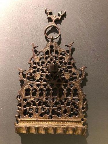 hanukkah lamp ,Marocco,judaica