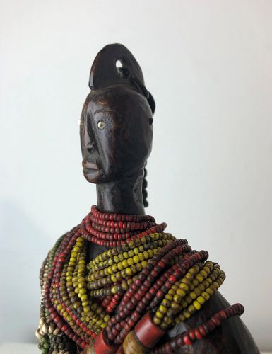 a old namji doll,cameroon