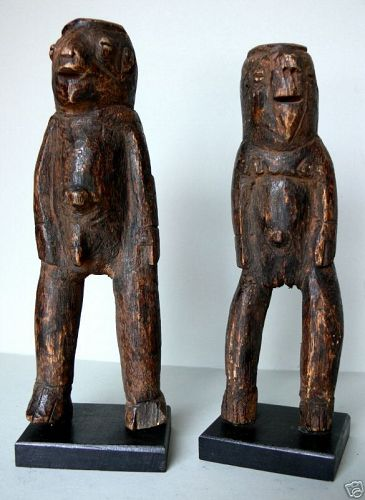 a couple of chamba figures north togo