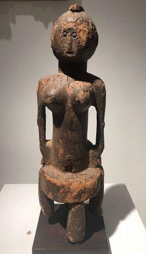 a senufo figure archaic style
