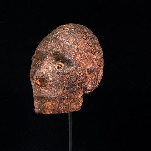 overmodeled sepik river skull