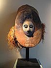 Nkanu  mask aera of lemfu  Congo