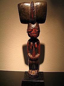 shango figure ,yoruba,Nigeria