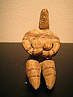 wonderful tell halaff mothergoddess figurine ,with tl