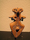 charsadda terra cotta amulet,indus valley with TL test
