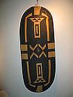 a beautiful azande shield ,congo,130cm