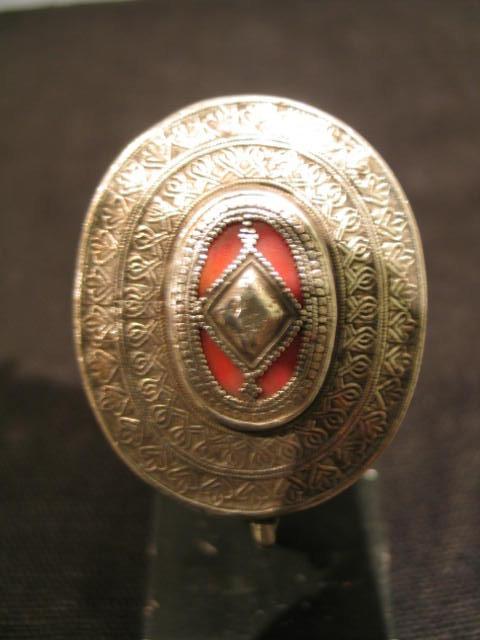 a kazakh silver ring