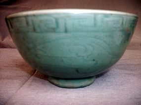 Long Quan Celadon Bowl Ming Dynasty