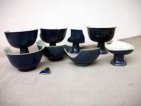 Porcelain Parts Ming Dynasty