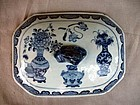 COVER OF EXPORT SAUCE TUREEN QING DYNASTY