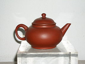 CHINESE TERRACOTTA TEAPOT