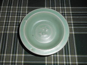 SOUTHERN SONG LONGQUAN GREENWARE TWIN FISH DISH