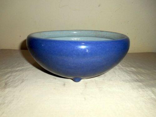 CHINESE BLUE GLAZED CENSER