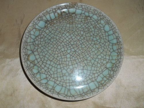 CHINESE GE-TYPE PORCELAIN PLATE