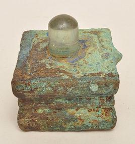A Khmer Crystal Lingam
