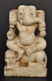 A Marble Ganesha