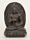 A Bodhisattva Seated on Lotus Throne