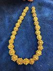 A strand of high karat gold beads from the Pyu Culture