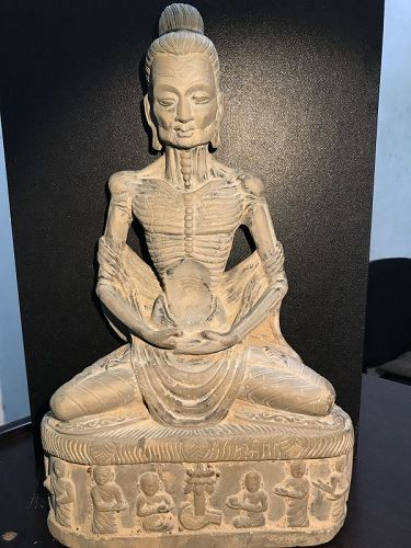 Gandhara fasting budddha
